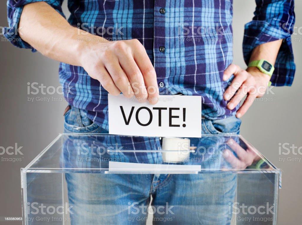 Vote! royalty-free stock photo