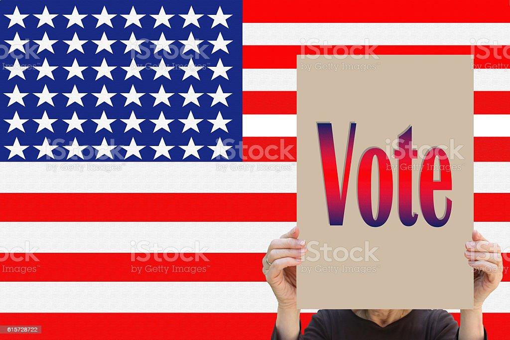 USA - Vote stock photo