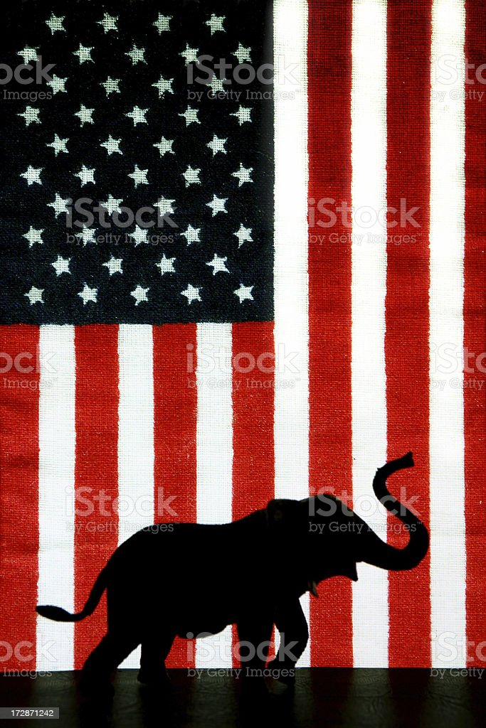 Vote Republican royalty-free stock photo