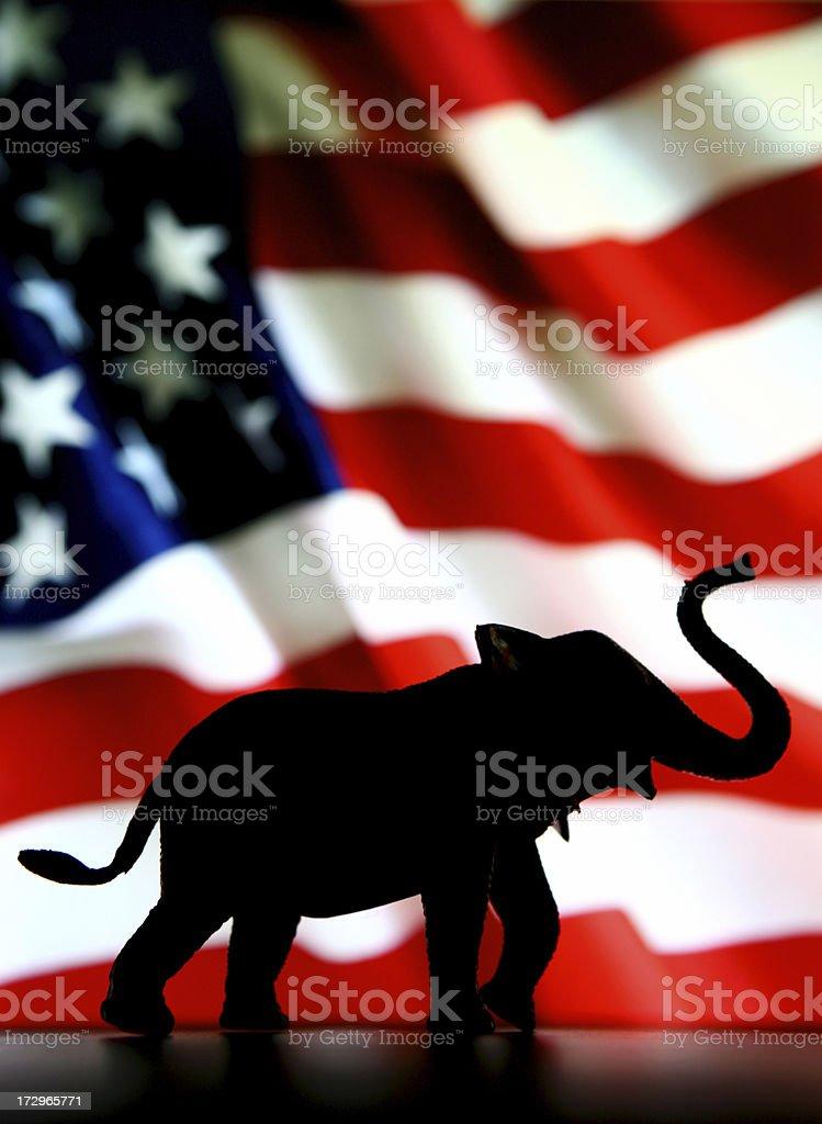 Vote Republican stock photo