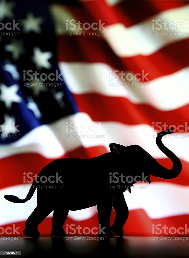Vote Republican stock photo