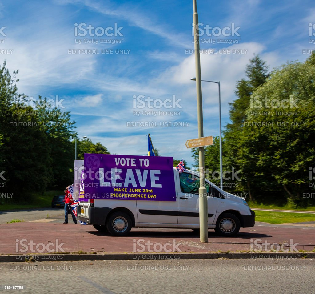 Vote to Leave BREXIT stock photo