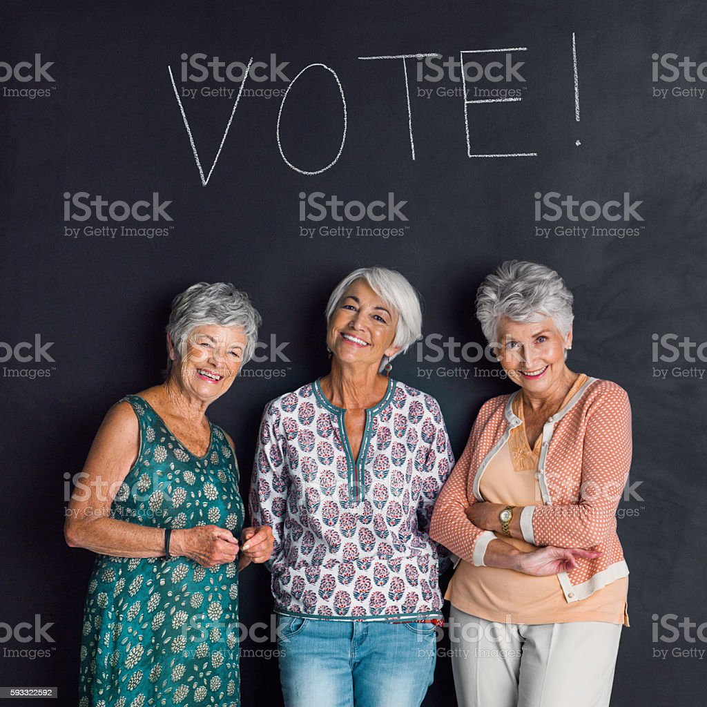 Vote today! stock photo