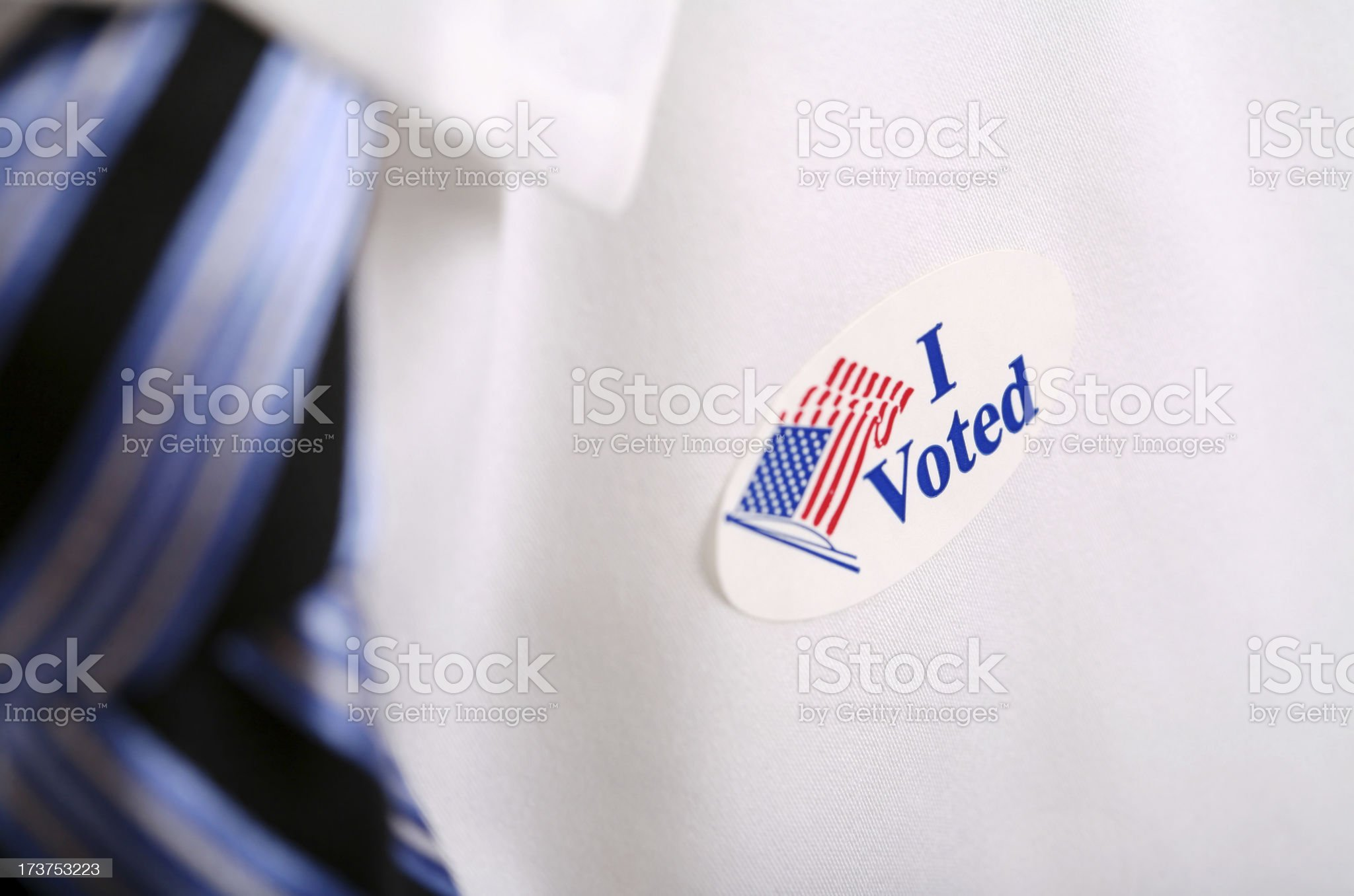 I Voted royalty-free stock photo