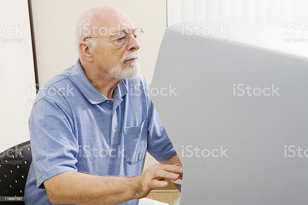 Voting For Disabled stock photo