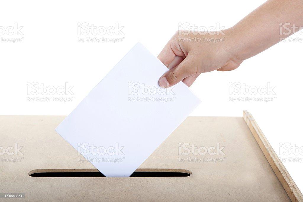 voting royalty-free stock photo