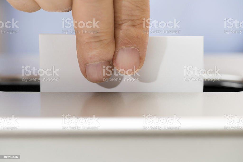 Voting (XXXLarge) stock photo