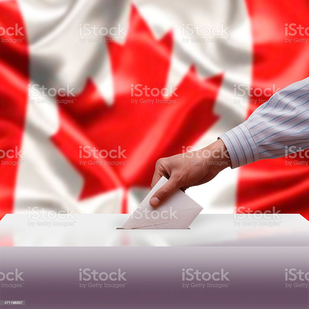 Voting royalty-free stock photo
