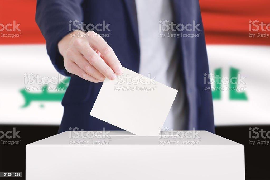 Voting. stock photo