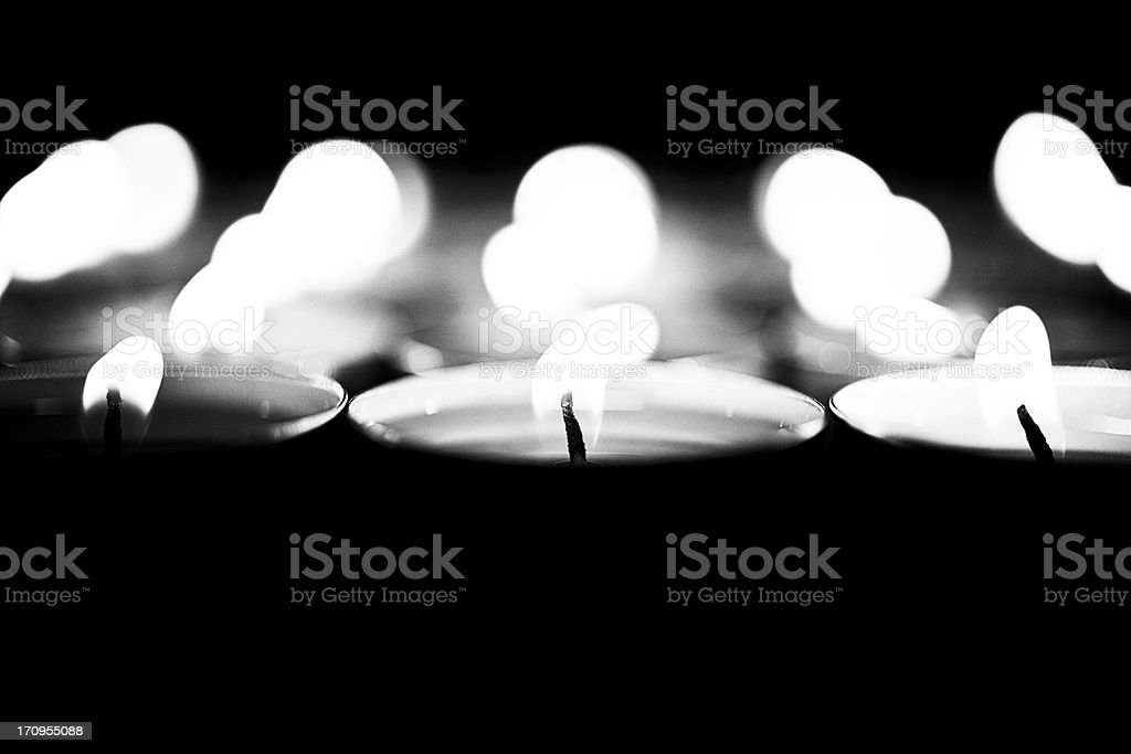 Votive Noir royalty-free stock photo