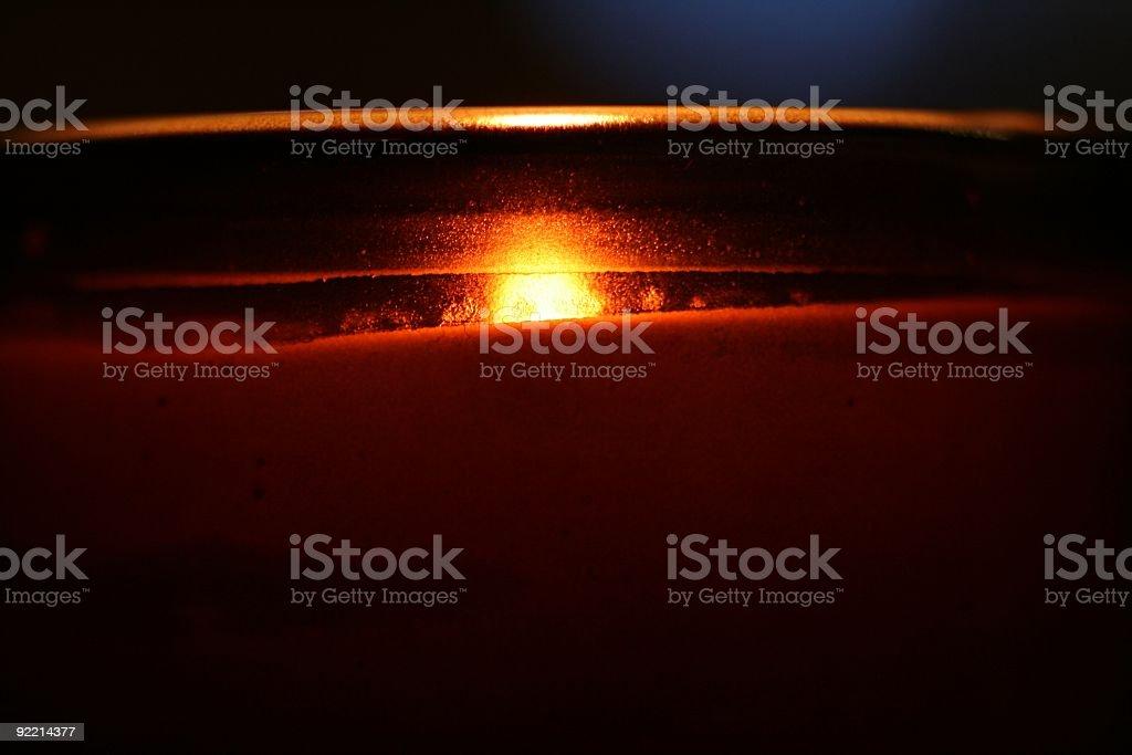 votive candle macro background royalty-free stock photo