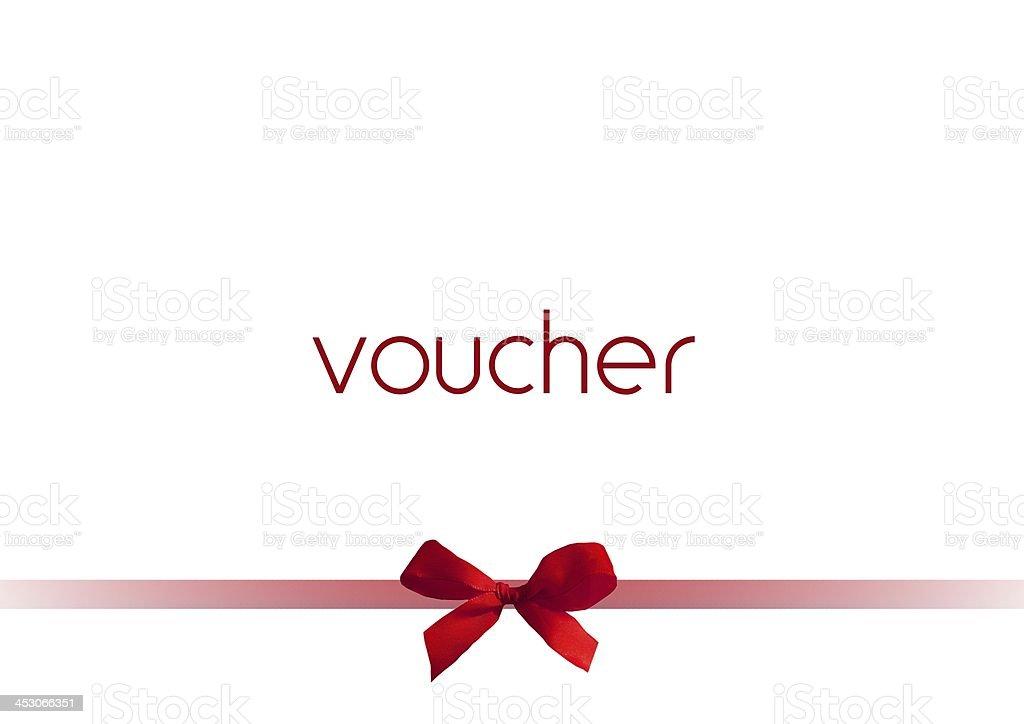 voucher stock photo