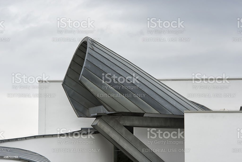 Vtra, Museum, Architectural Detail, Weil, Germany royalty-free stock photo