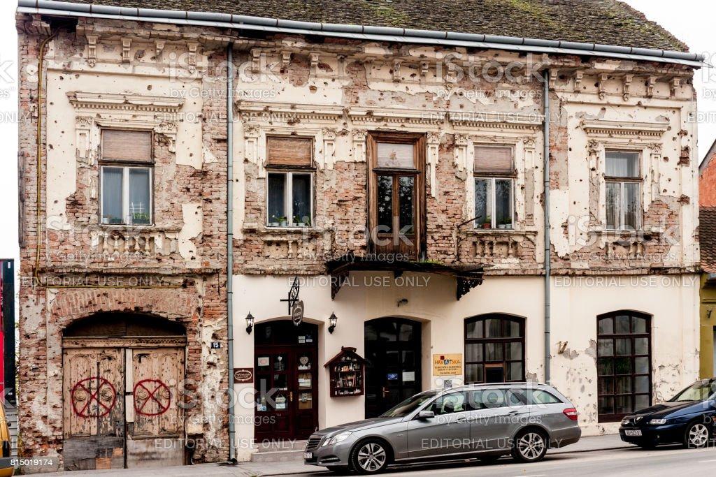 Vukovar  Croatia stock photo