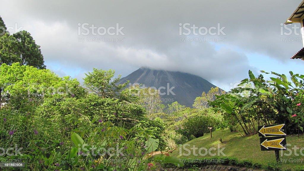 Vulcan Arenal, Costa Rica stock photo
