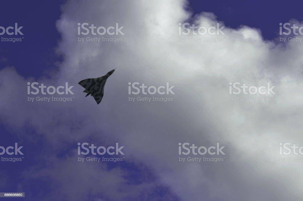 Vulcan Bomber England UK stock photo