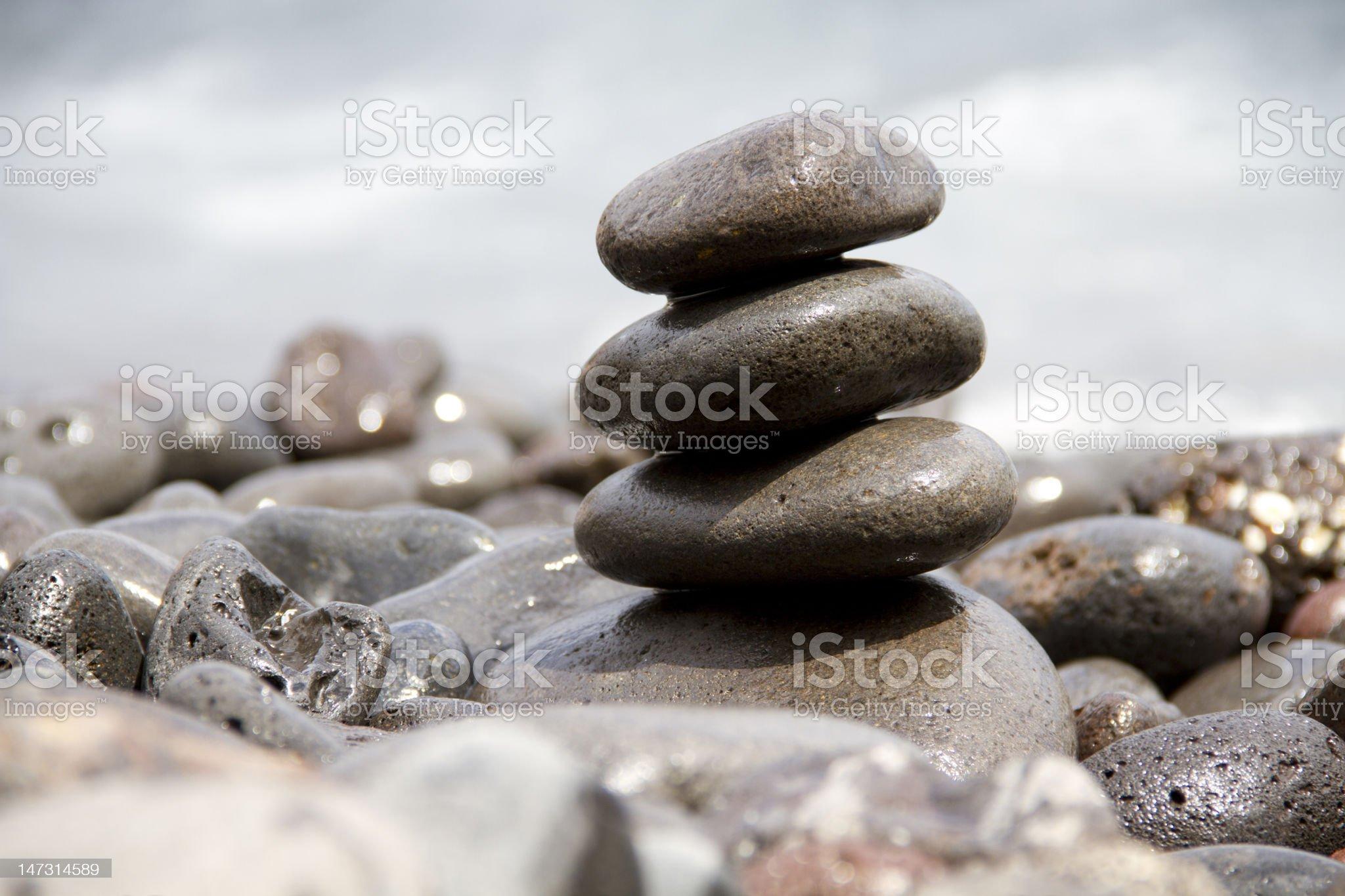 vulcanic stone royalty-free stock photo