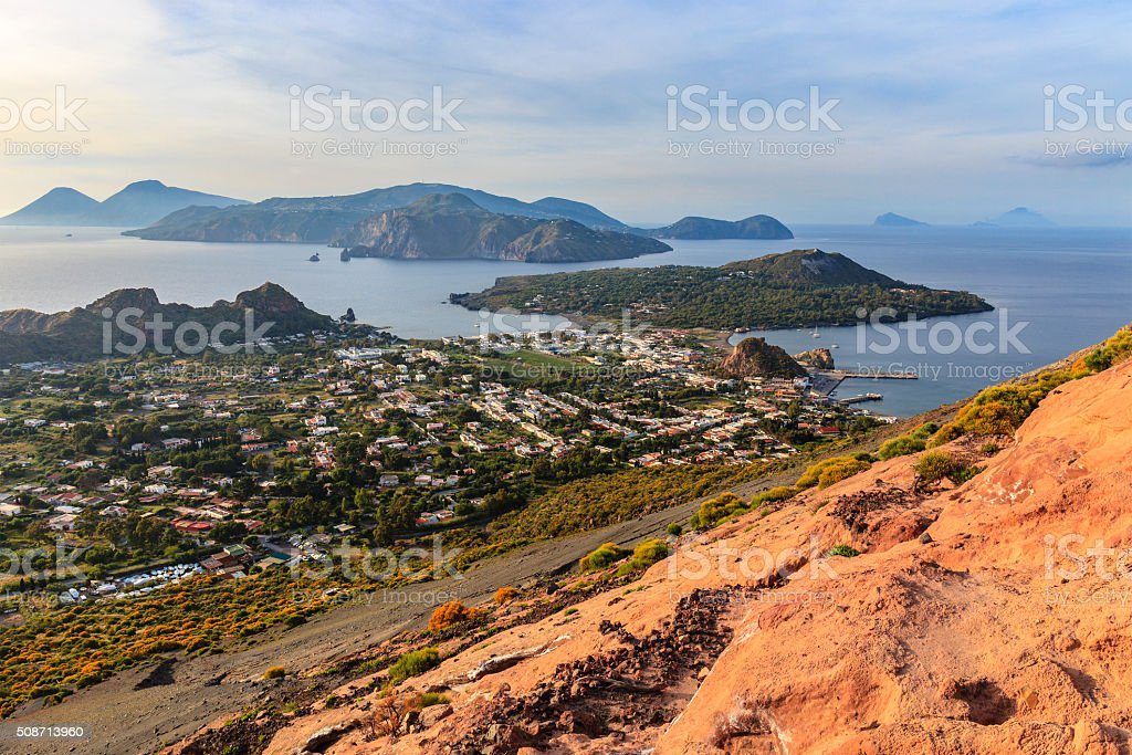 Vulcano - Aeolian Islands, Sicily stock photo