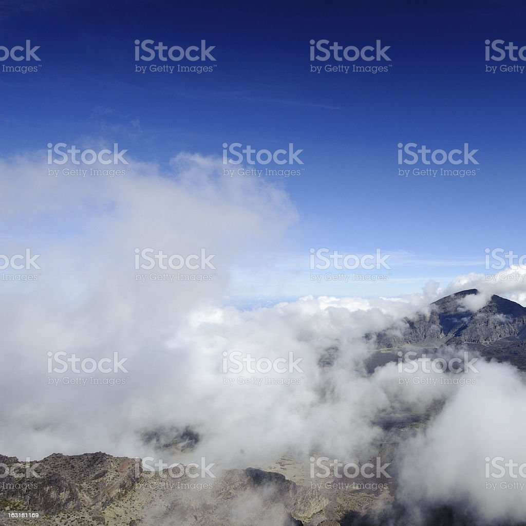 Vulcano Landscape royalty-free stock photo