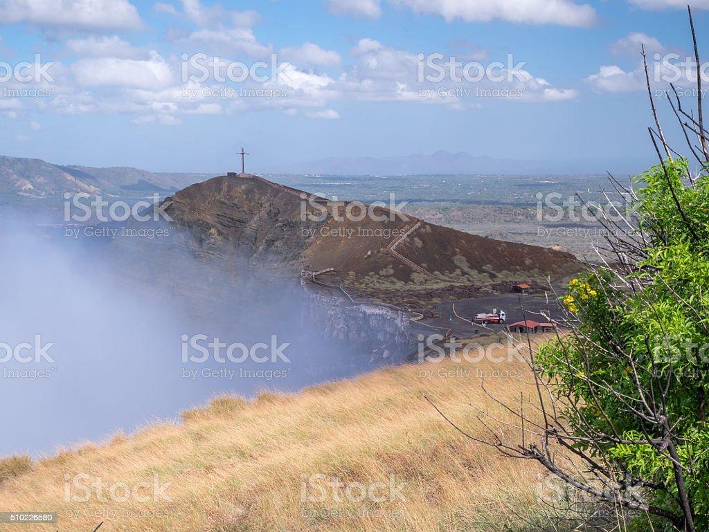 Vulkan Masaya in the near of Granada royalty-free stock photo