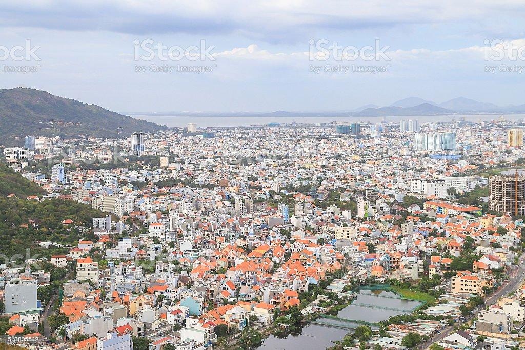 Vung Tau City stock photo