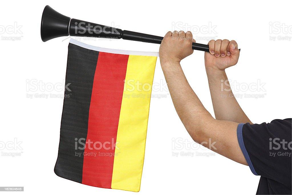 Vuvuzela stock photo