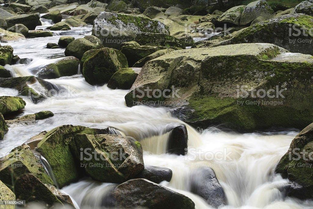 Vydra River, Czech Republic royalty-free stock photo