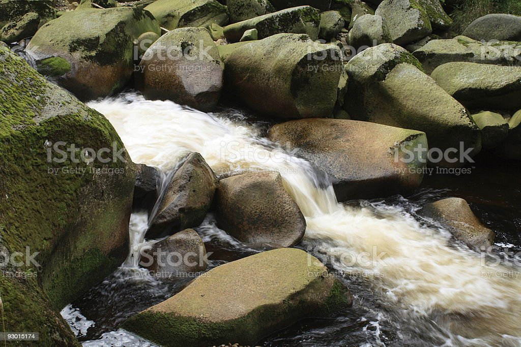 Vydra River, Czech Republic royalty-free stock photo
