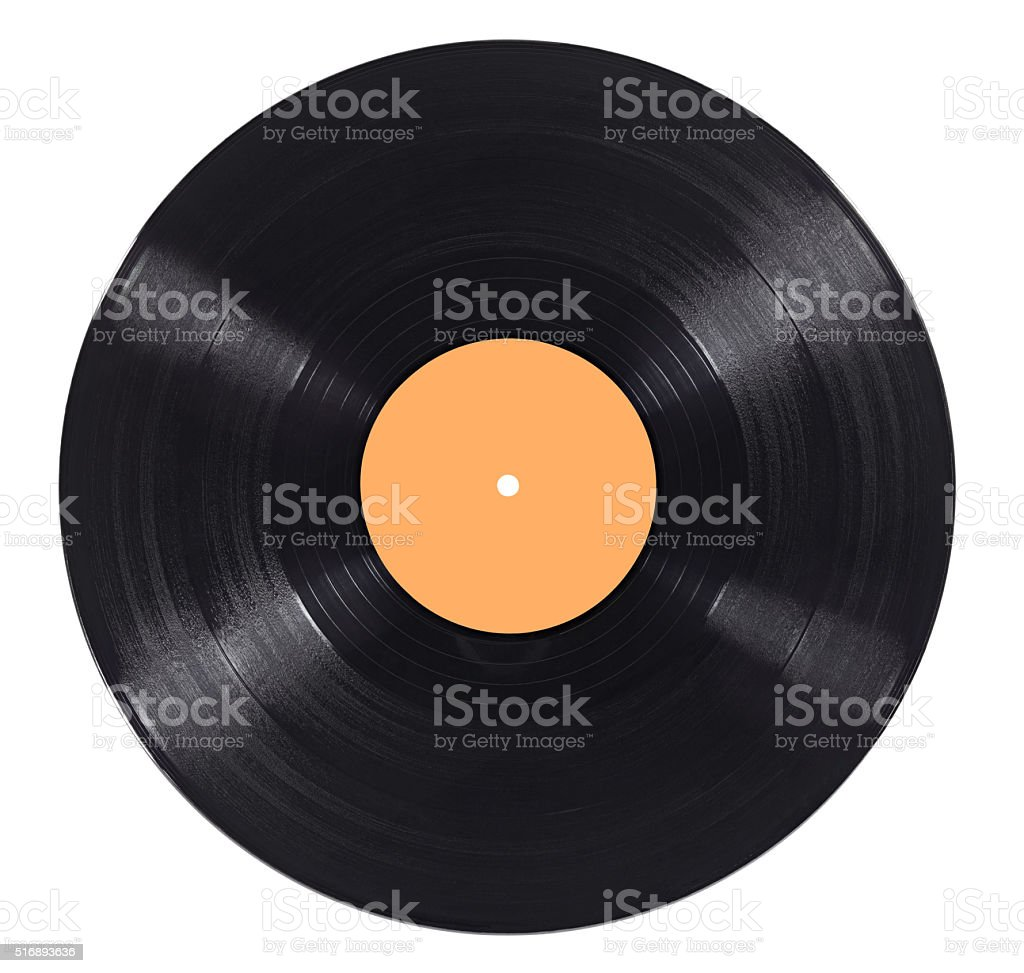vynil vinyl record play music vintage stock photo