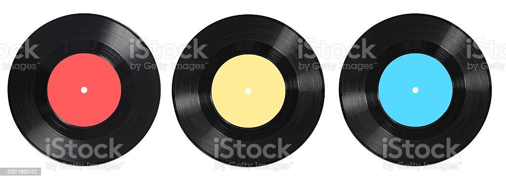vynil vinyl record play music vintage stock photo