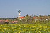 Waakirchen in Upper Bavaria