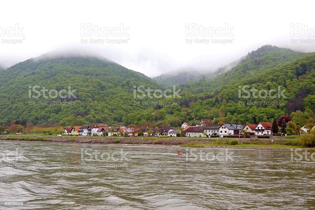 Wachau valley. AUSTRIA. stock photo
