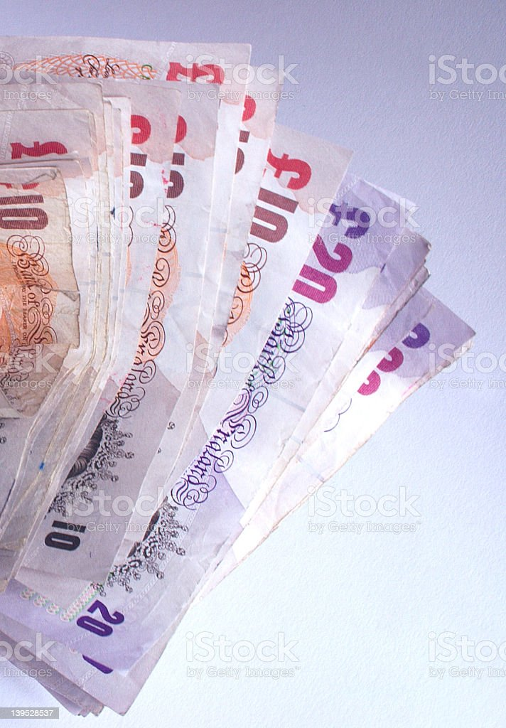 wad of money royalty-free stock photo