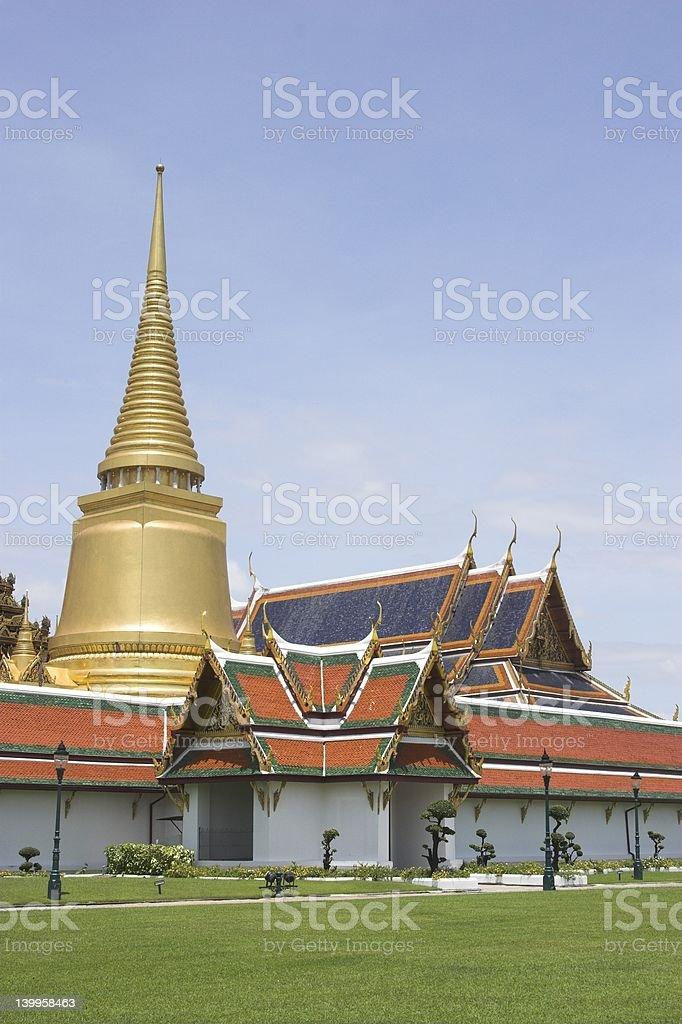 Wad Pra Kaew royalty-free stock photo