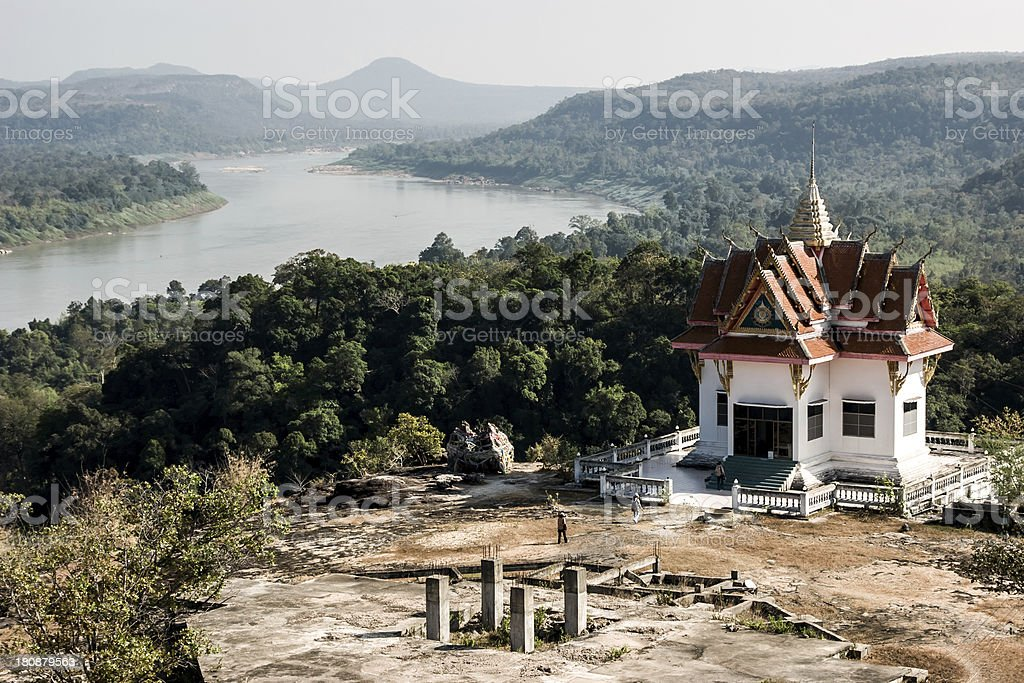 Wad Sun Hin Pa Nang Koy royalty-free stock photo