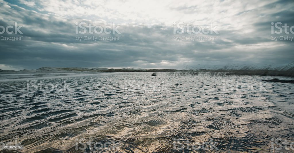 Wadden Sea stock photo