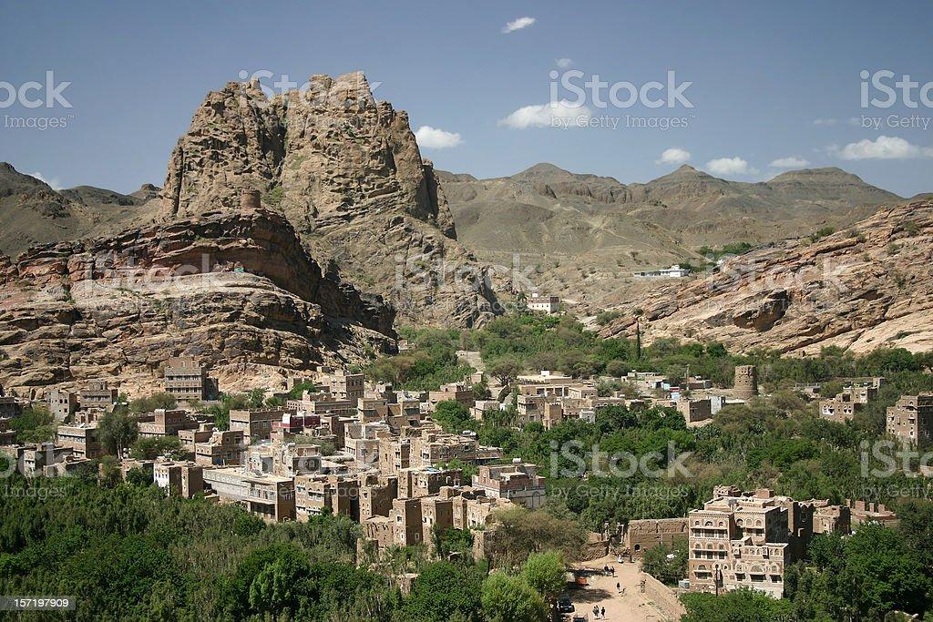 Wadi Dhahr royalty-free stock photo