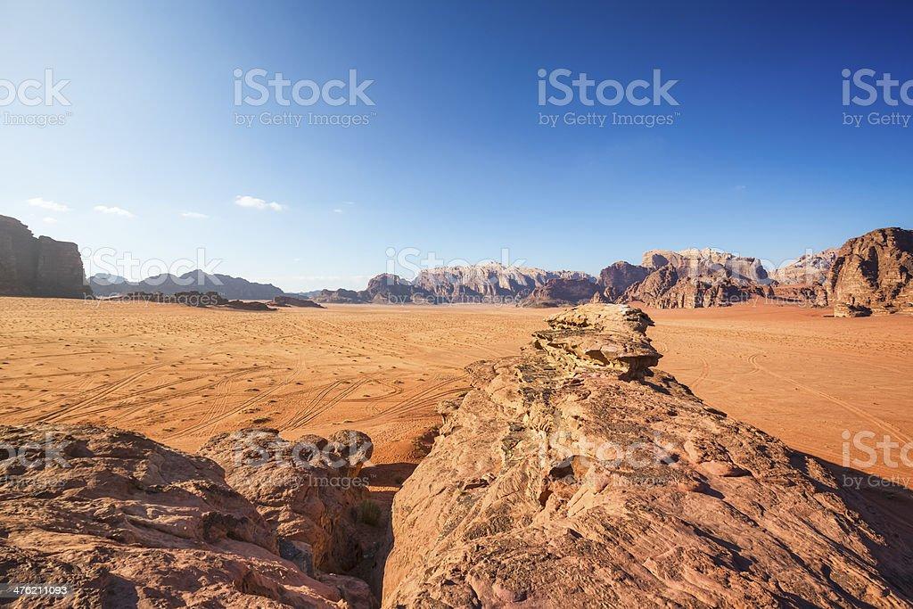 Wadi Rum - Jordan / Africa royalty-free stock photo