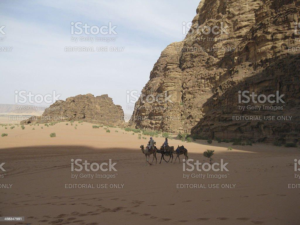 Wadi Rum, Jordan royalty-free stock photo