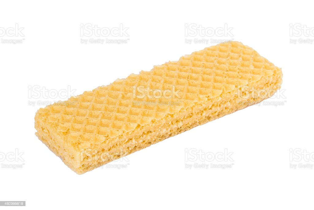 Wafer biscuit stock photo
