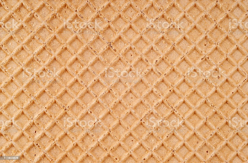 Waffer texture stock photo