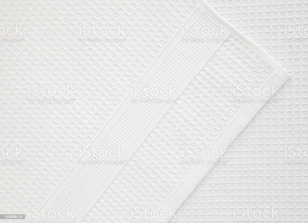 Waffle structure fabric royalty-free stock photo