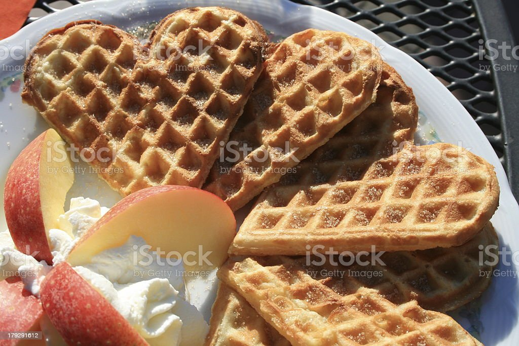 Waffles royalty-free stock photo