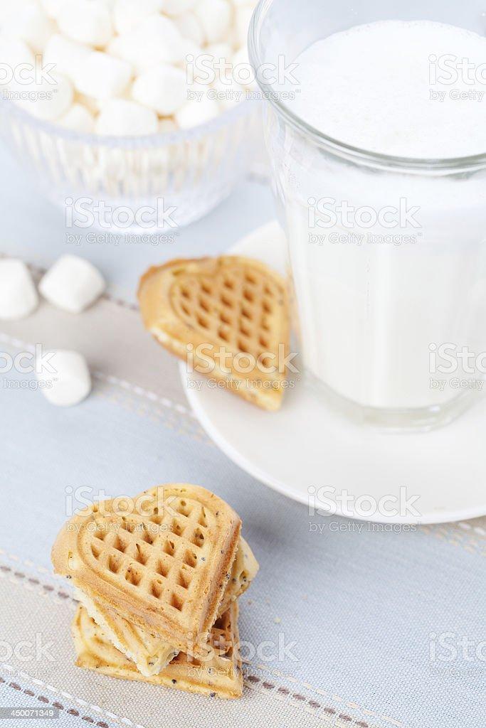 Waffles foto royalty-free