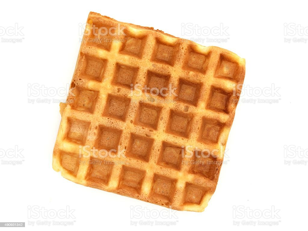 Waffles stock photo