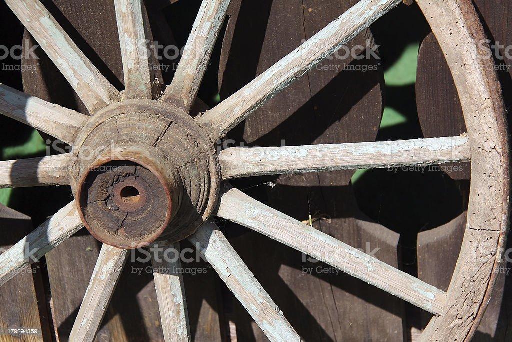 Wagenrad stock photo