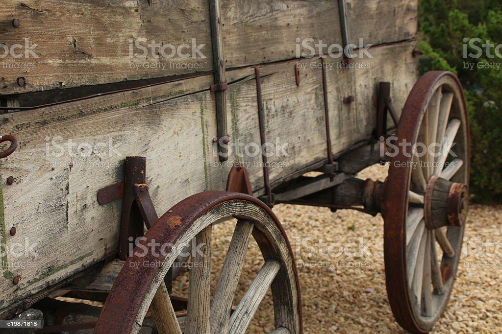 Wagon 2 stock photo
