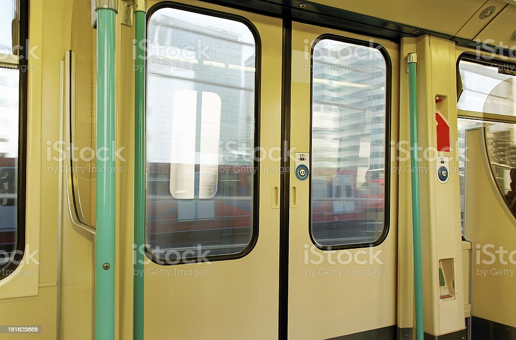 Wagon door. royalty-free stock photo