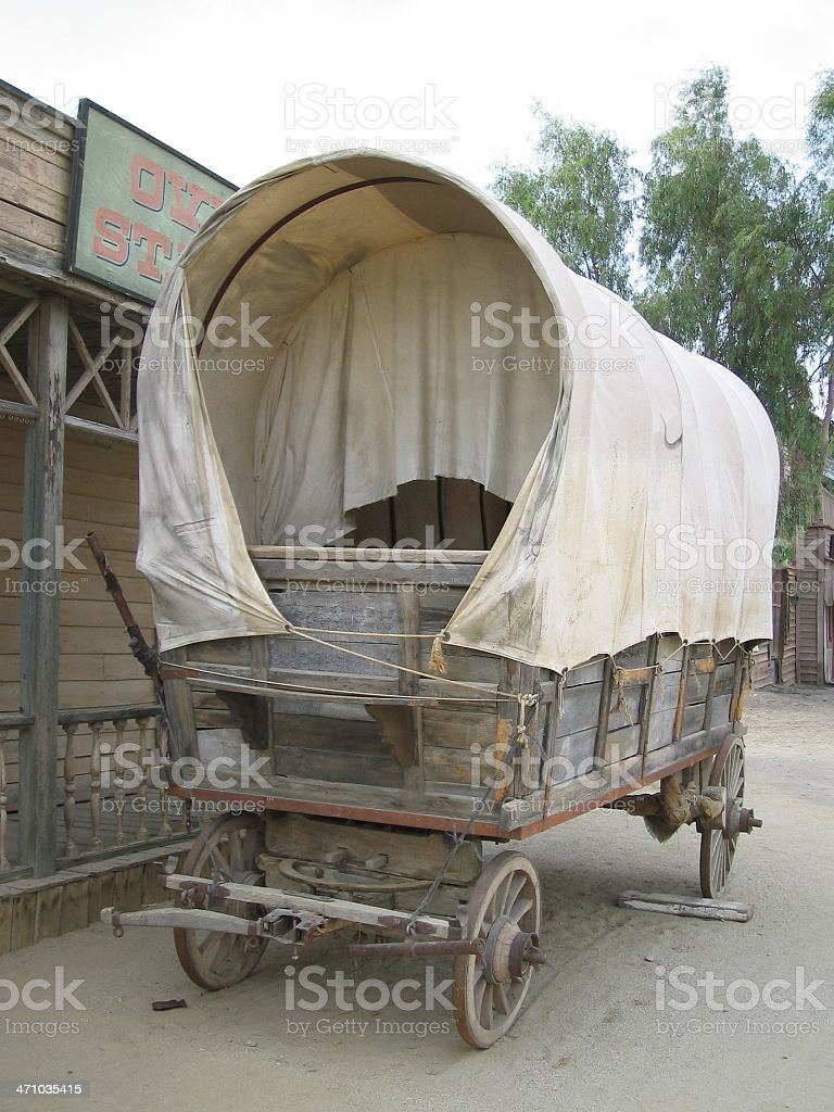 Wagon..:: Far west 'Series'::.. royalty-free stock photo