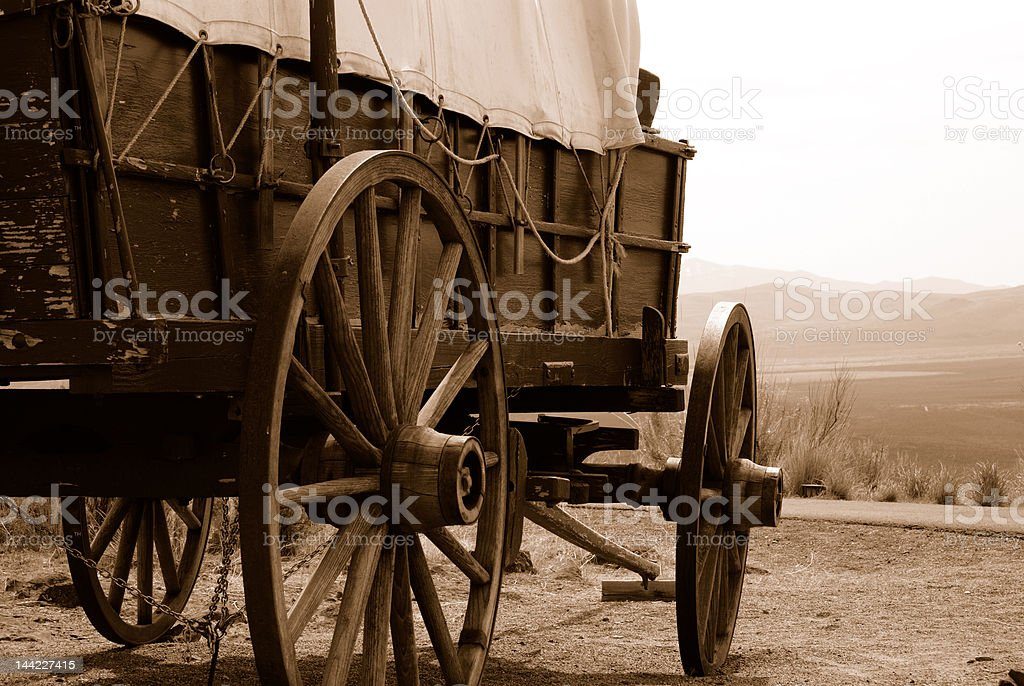 Wagon royalty-free stock photo